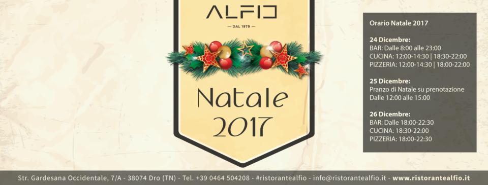 Natale 2017 Ristorante Alfio