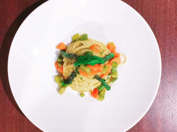 spaghetti-kamut-asparagi-zenzero-ristorante-alfio-1-705x529 Benvenuti Ristorante Alfio
